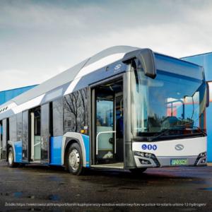 KONIN kupił pierwszy autobus wodorowy w Polsce